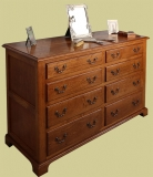 8-Drawer Chest Drawers Period Style