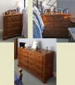 New period style oak bedroom furniture designs
