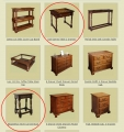 New products added to our bespoke early oak reproduction furniture portfolio