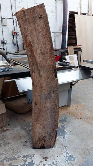 Old oak curved beam 1