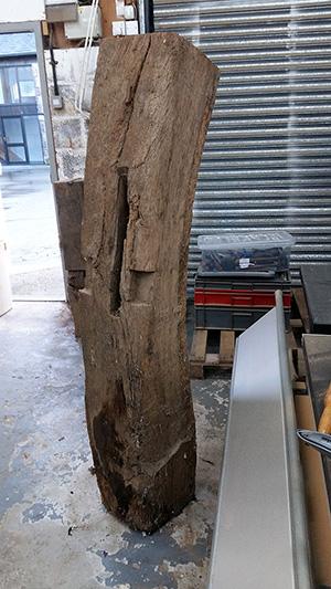 Old oak curved beam 4